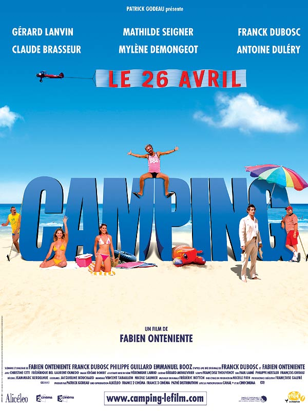 Camping affiche