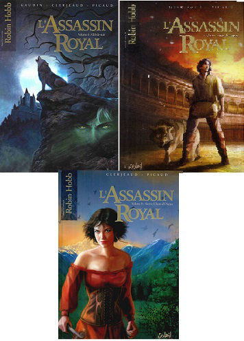 L'Assassin Royal – Tomes 01 à 08