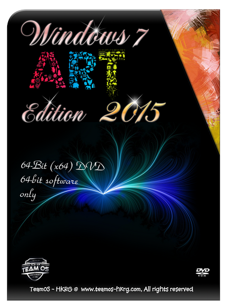 Windows 7 Art Edition 2015 x64 with last updates incl Activator
