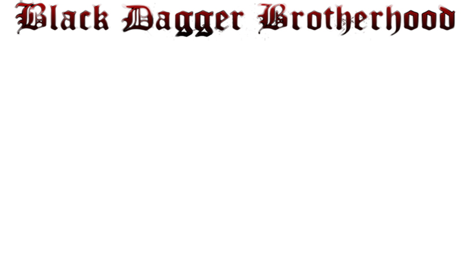 Black Dagger Brotherhood RPG
