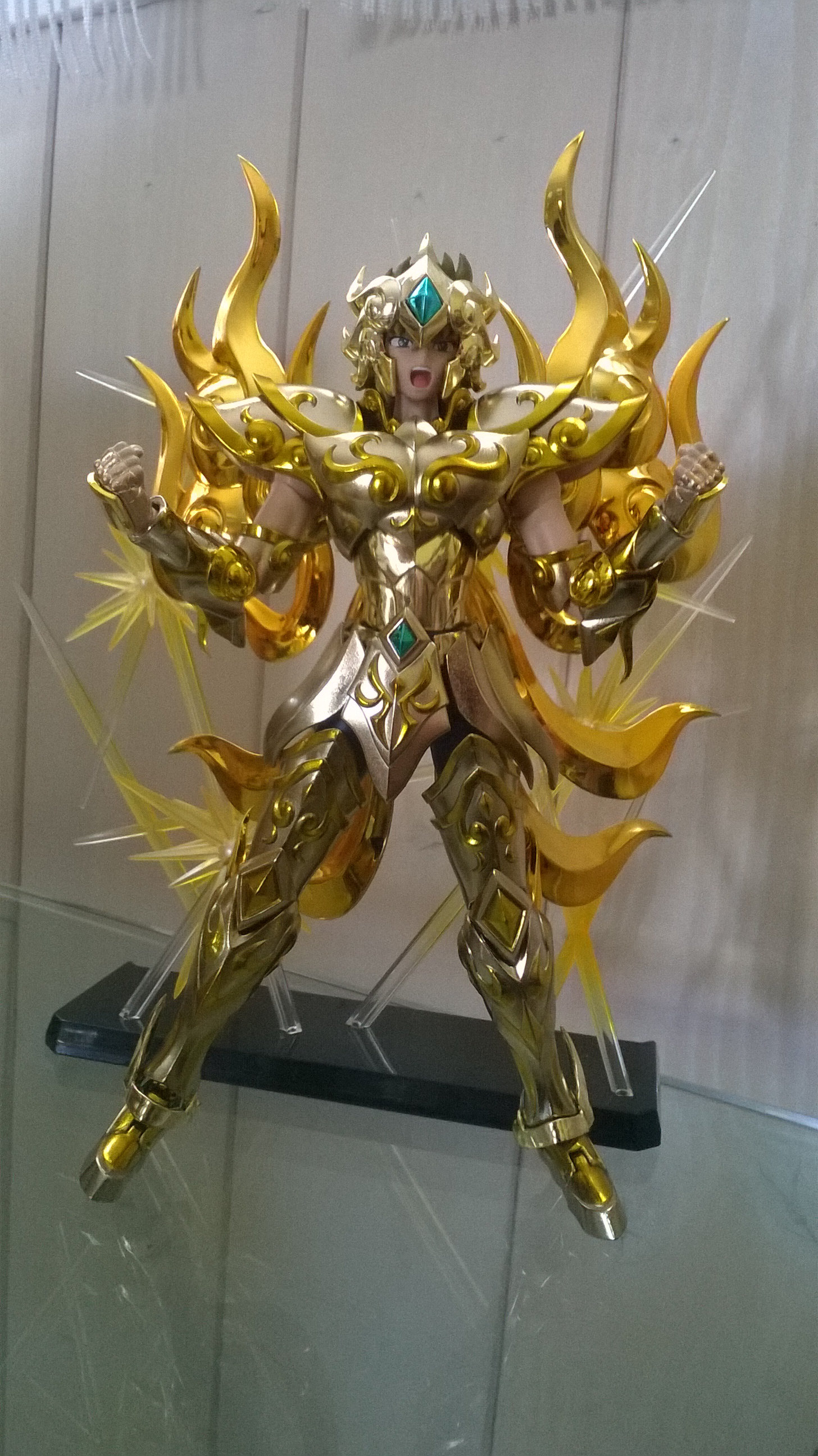 Les photos/montages de votre Myth Cloth EX du Lion Soul of Gold (God Cloth) G9q2