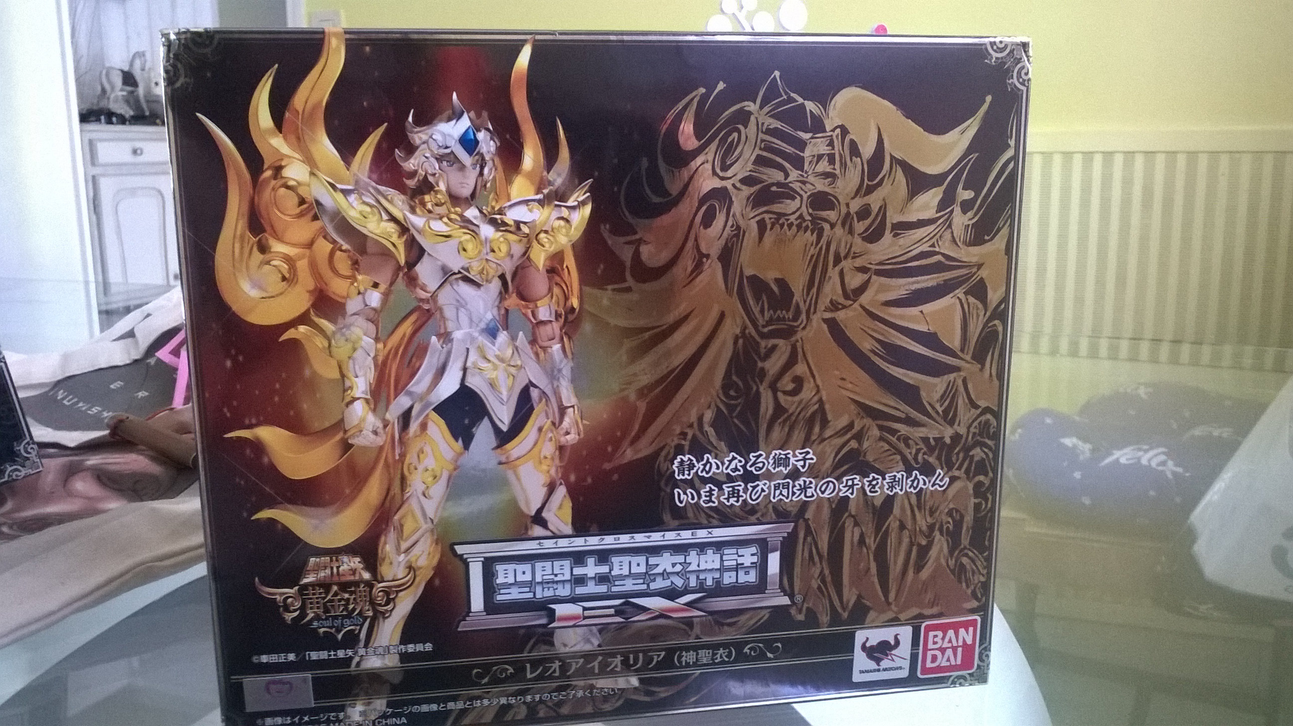 Les photos/montages de votre Myth Cloth EX du Lion Soul of Gold (God Cloth) Gyzu