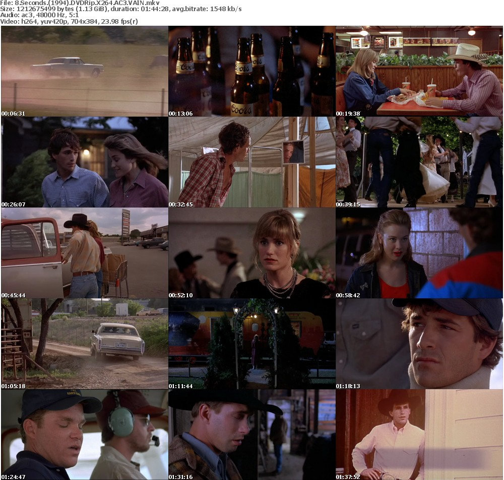 8 Seconds (1994) DVDRip X264 AC3 VAIN