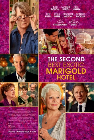 The Second Best Exotic Marigold Hotel (2015) 1080p BRRip x264-JYK