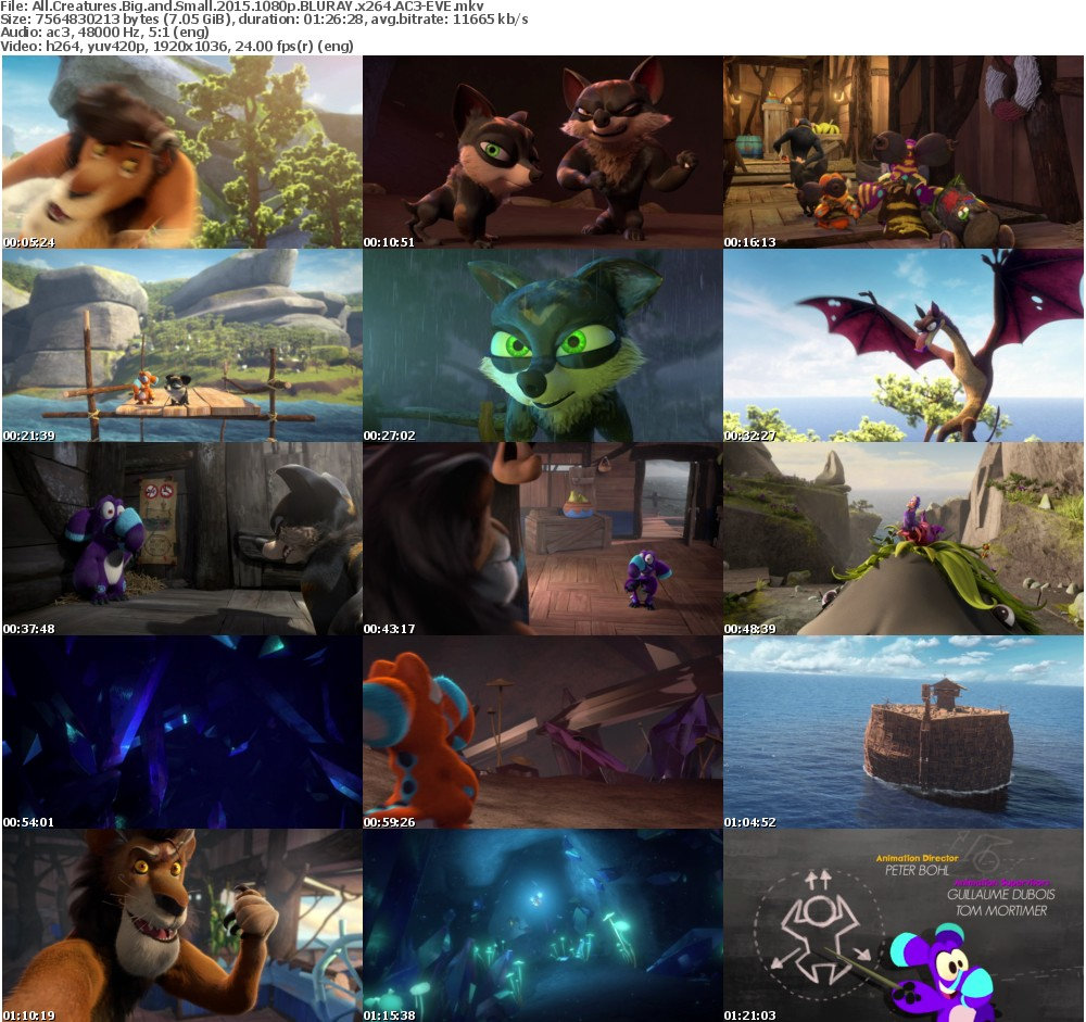 All Creatures Big and Small (2015) 1080p BLURAY x264 AC3-EVE