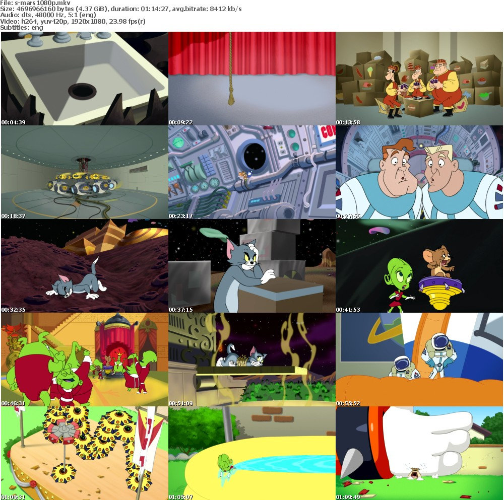 [MULTI] Tom and Jerry Blast Off to Mars (2005) 1080p ...