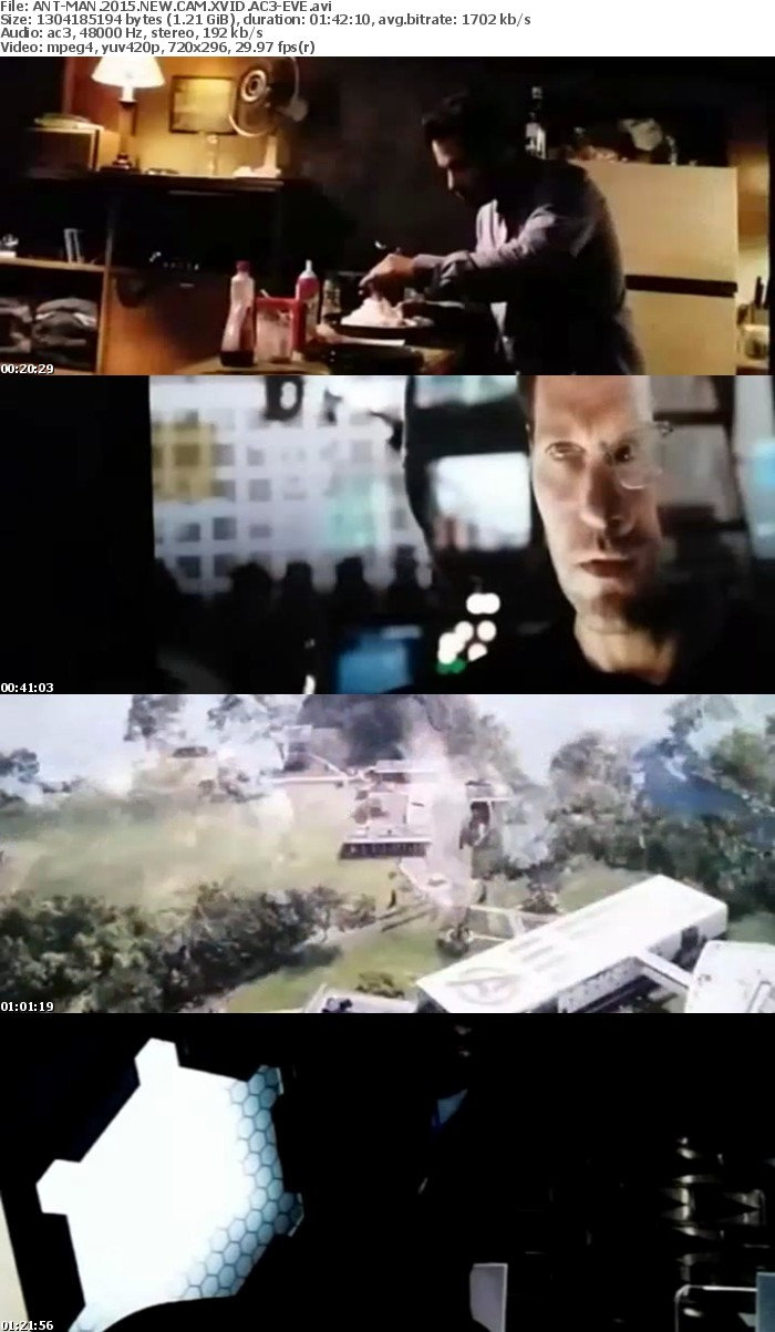 ANT-MAN 2015 NEW CAM XVID AC3-EVE