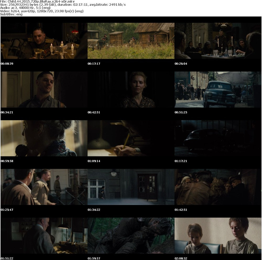 Child 44 (2015) 720p BluRay x264 x0r