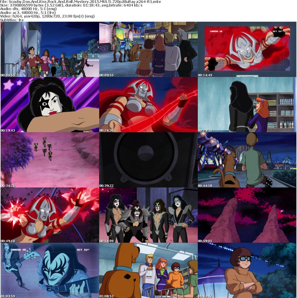 Scooby Doo And Kiss Rock And Roll Mystery (2015) MULTi 720p BluRay x264-R1