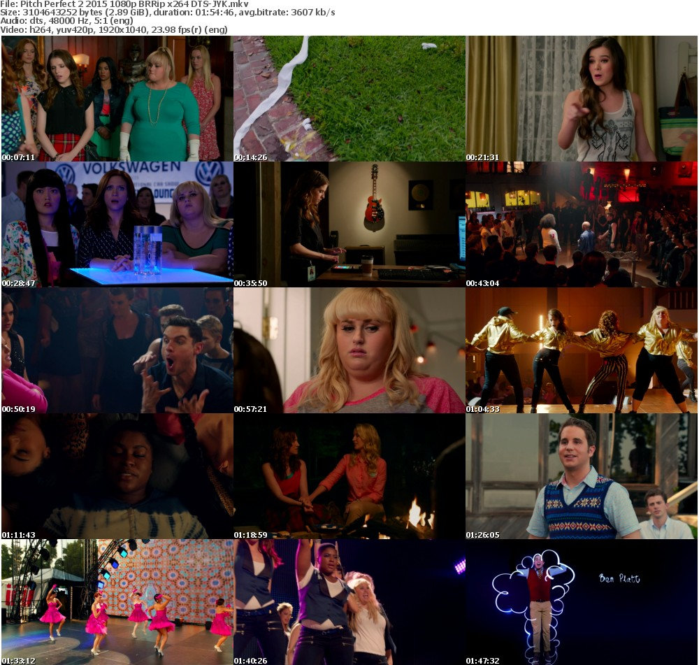Pitch Perfect 2 (2015) 1080p BRRip x264 DTS-JYK