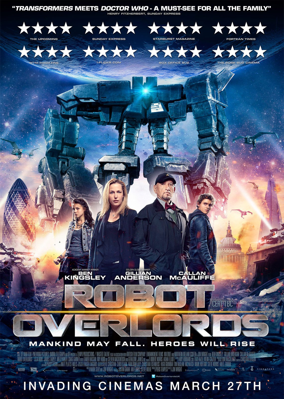 Robot Overlords affiche