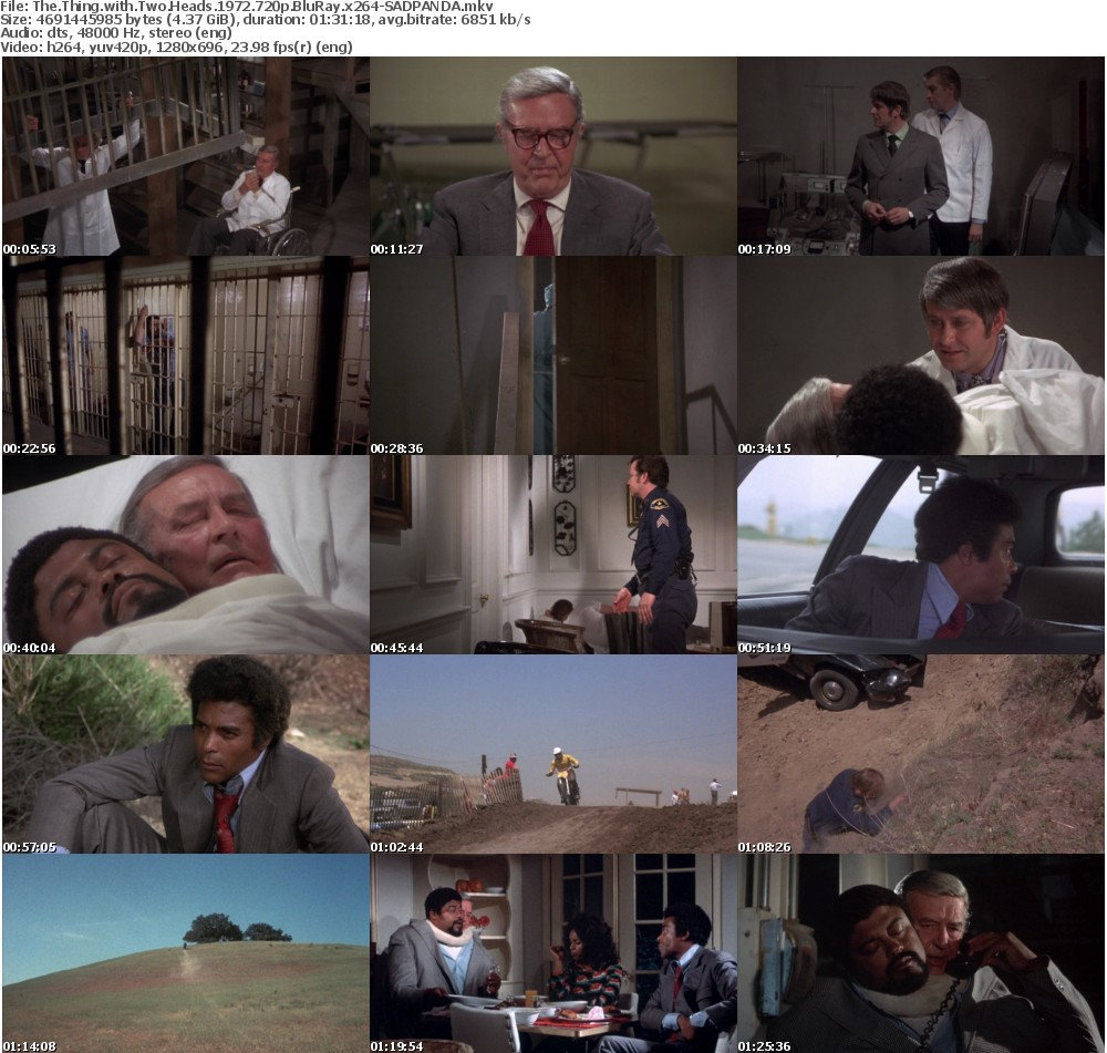The Thing with Two Heads 1972 720p BluRay x264-SADPANDA