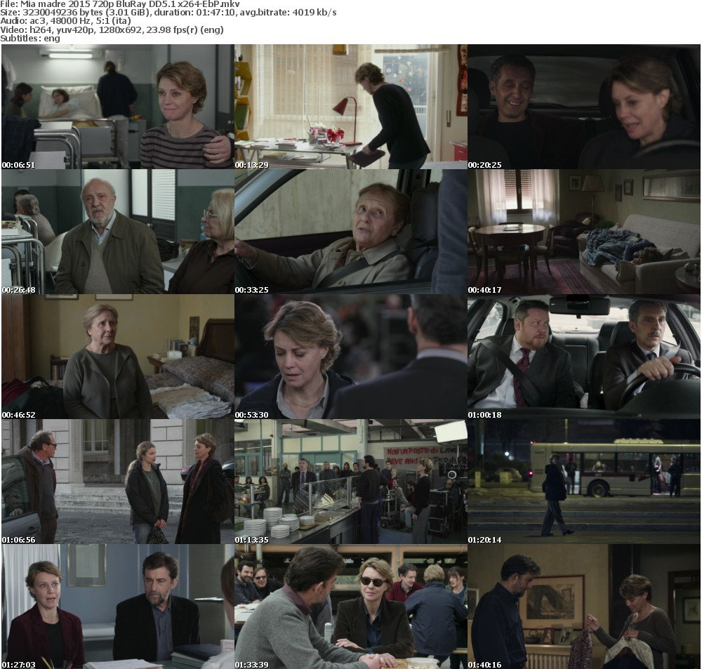 Mia madre 2015 720p BluRay DD5 1 x264-EbP