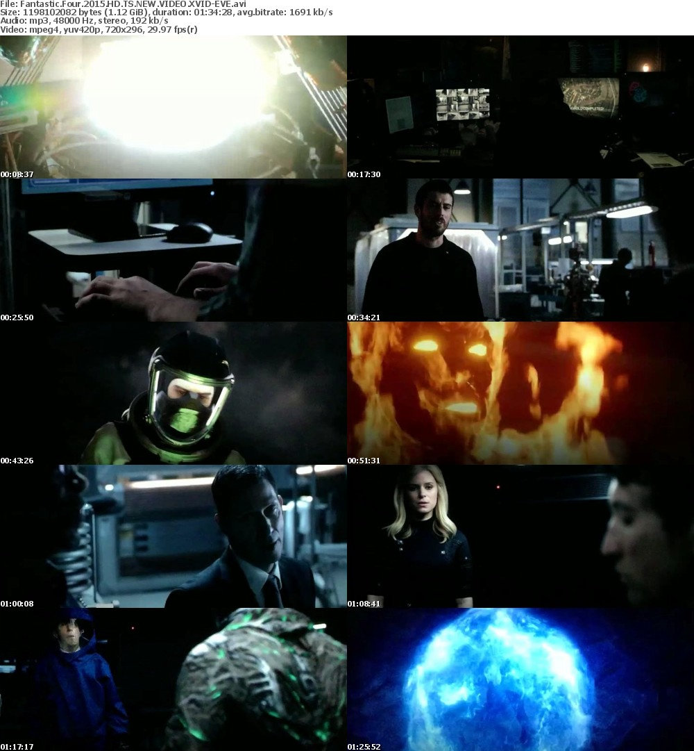 Fantastic Four 2015 HD TS NEW VIDEO XVID-EVE
