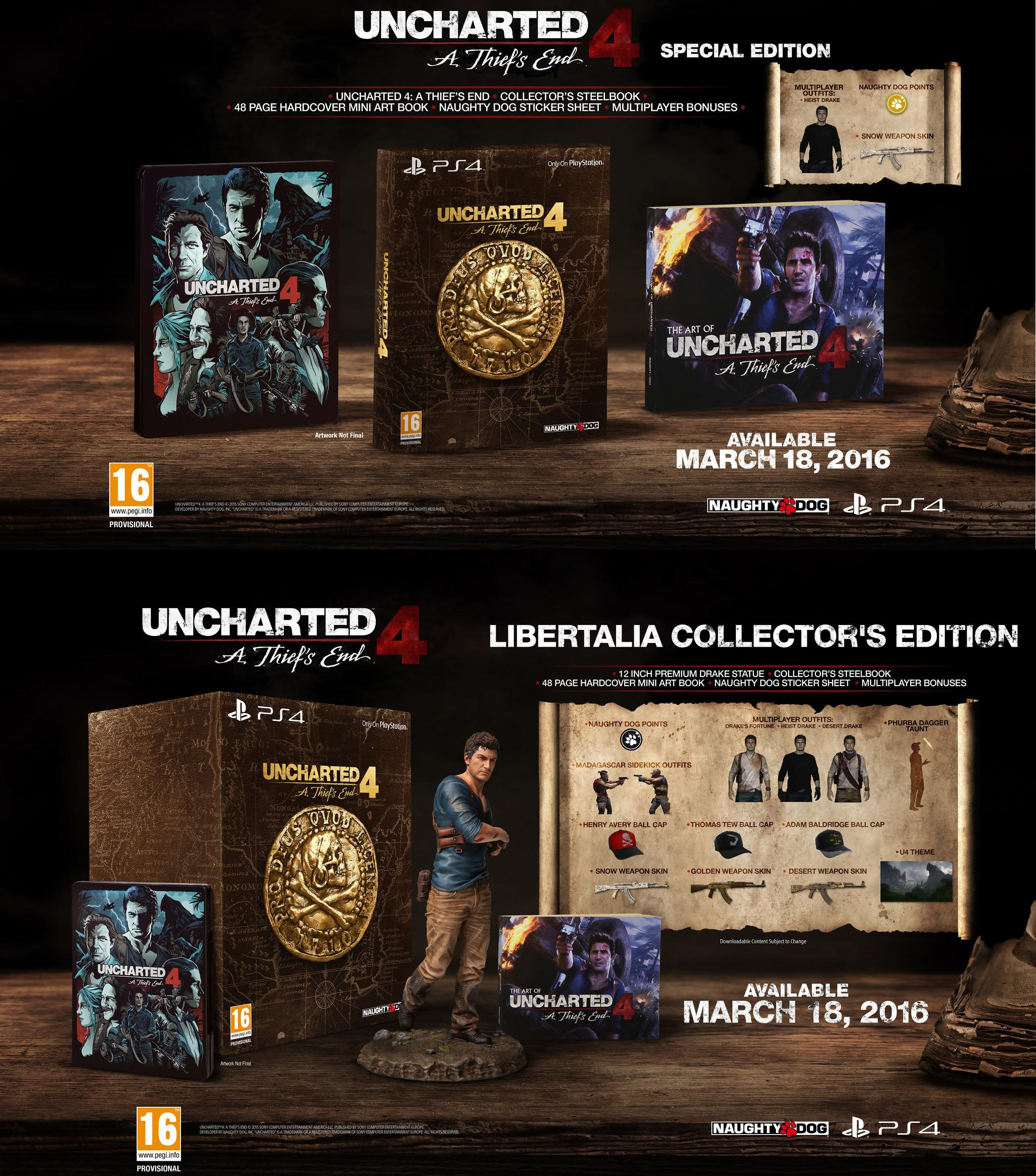 Uncharted : A Thief's End