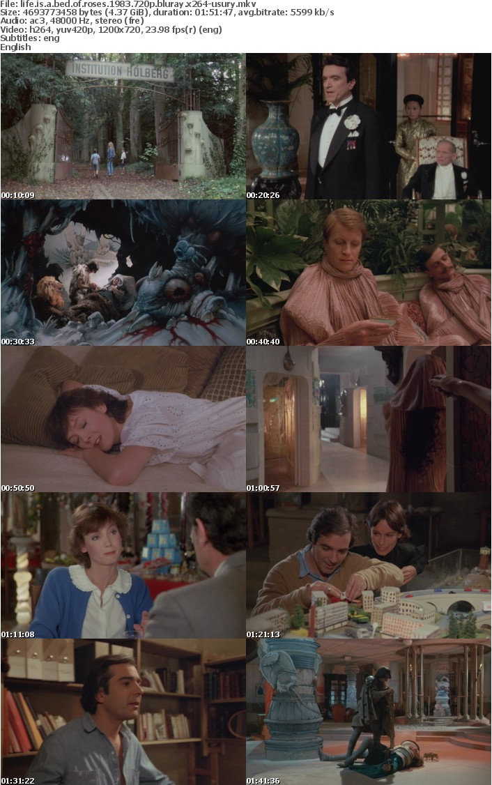Life is a Bed of Roses 1983 720p BluRay x264-USURY