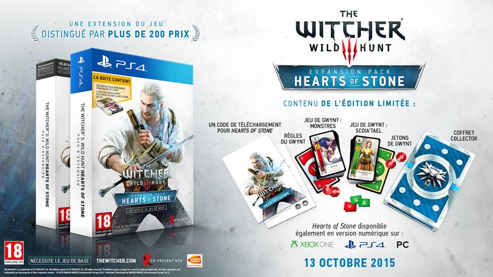 Witcher 3 : Wild Hunt - Heart Of Stone