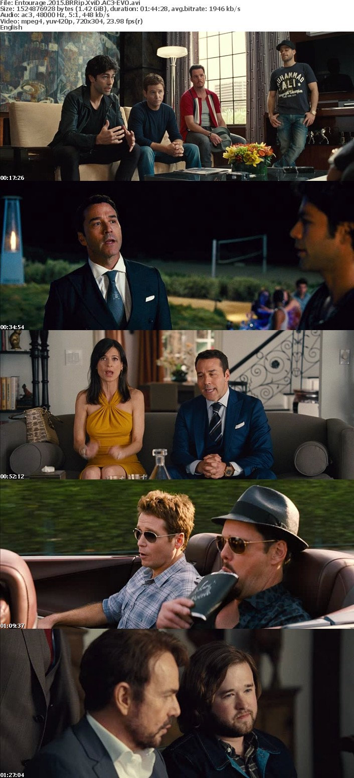 Entourage 2015 BRRip XviD AC3-EVO