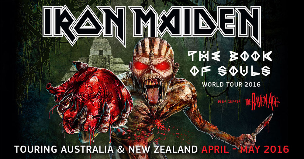 Iron Maiden : The Book Of Souls World Tour