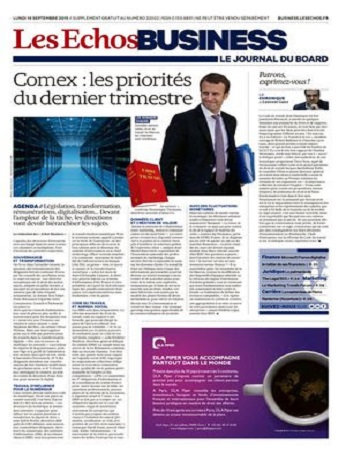 Les Echos Business Du Lundi 14 Septembre 2015