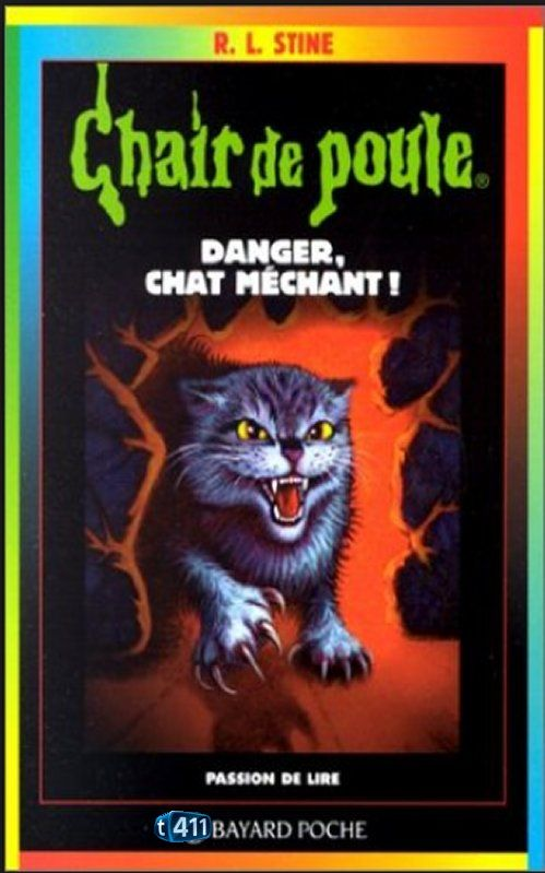 R.L. Stine - Danger, chat méchant