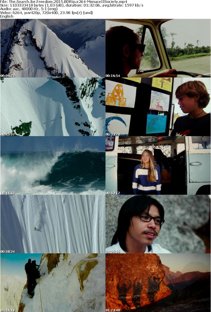 The Search for Freedom 2015 BDRip x264-MenaceIISociety