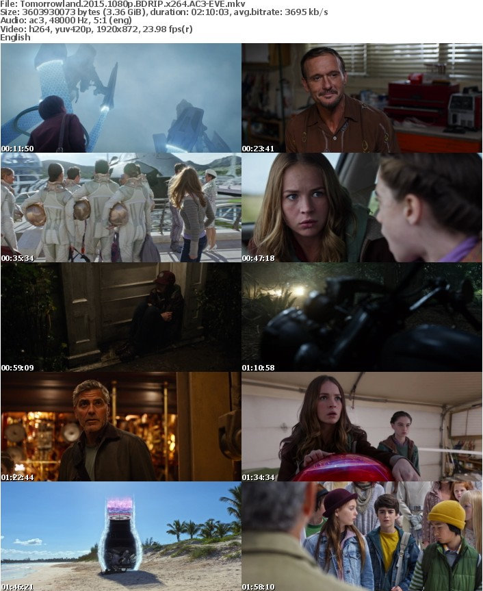 Tomorrowland 2015 1080p BDRIP x264 AC3-EVE