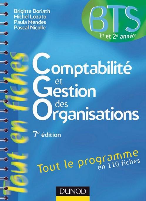 Comptabilité et gestion des organisations 7e Edition