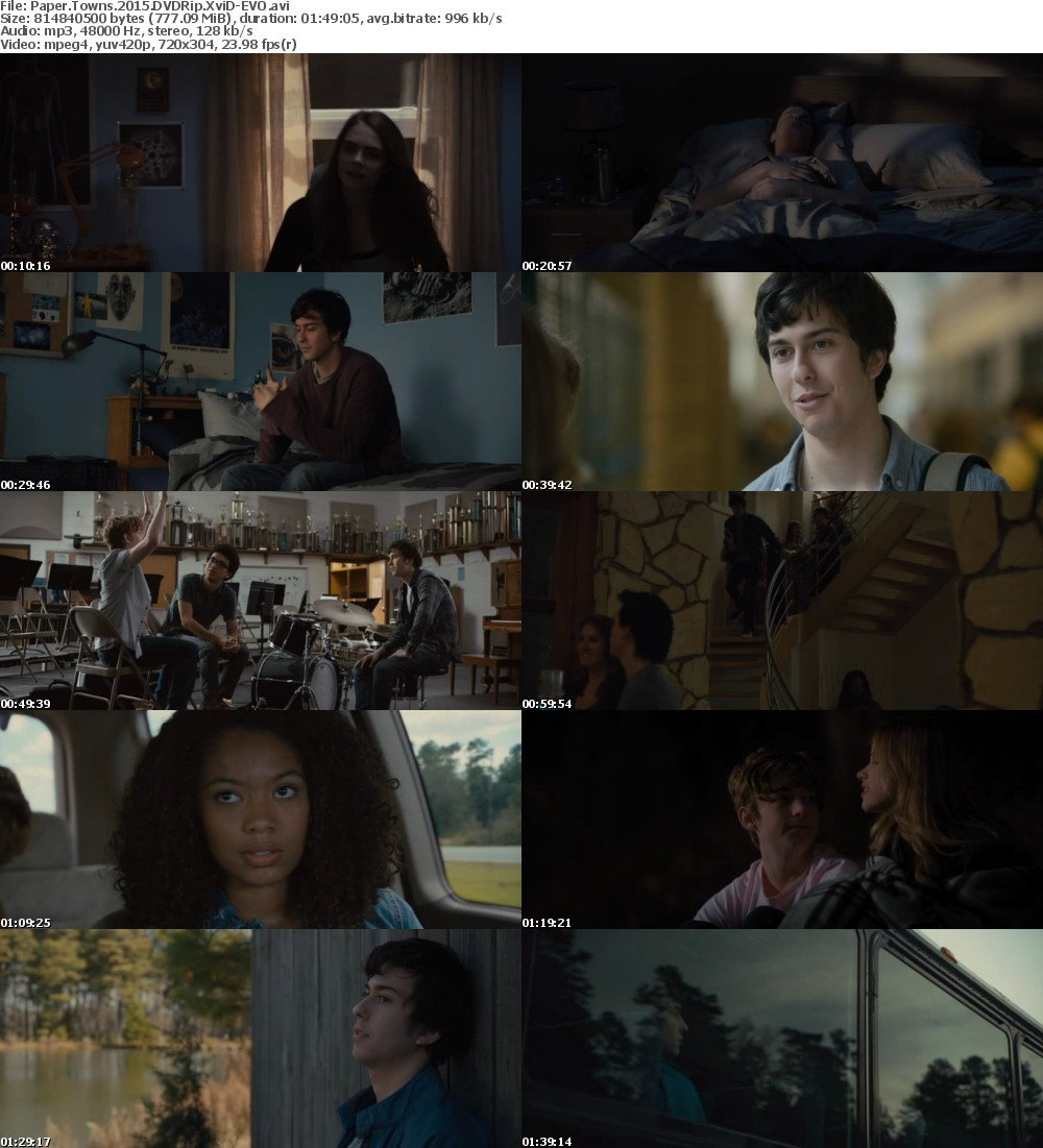 Paper Towns (2015) DVDRip XviD-EVO