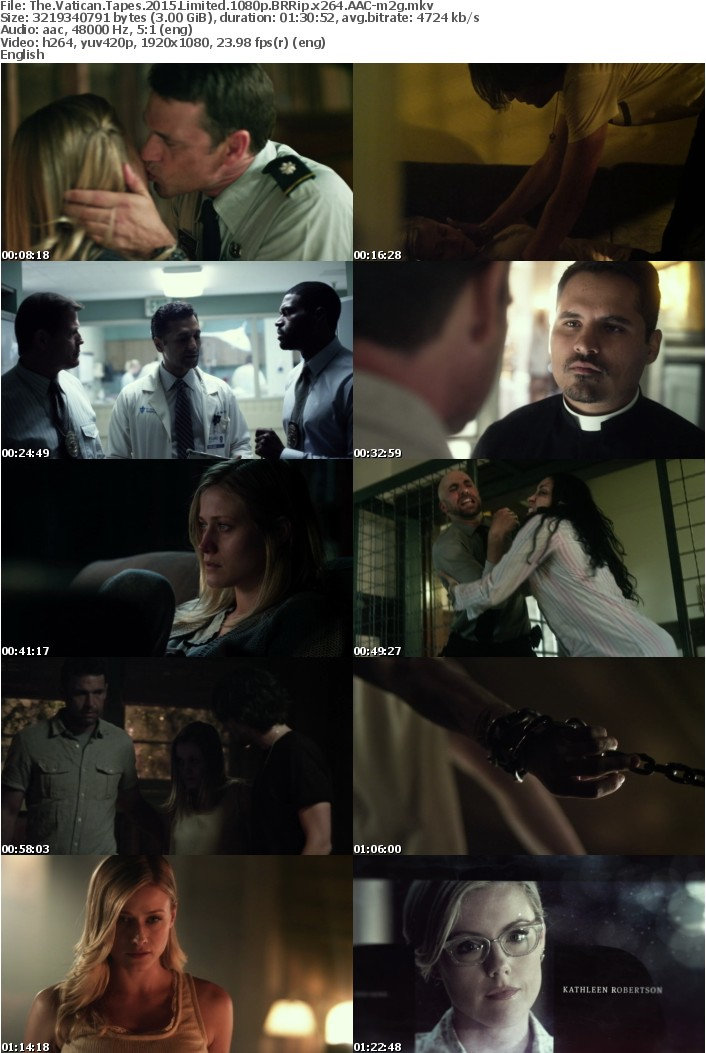 The Vatican Tapes 2015 Limited 1080p BRRip x264 AAC-m2g