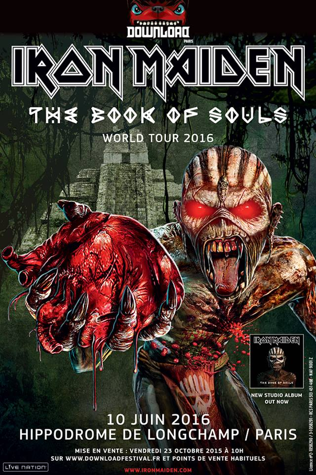 Iron Maiden The Book Of Souls World Tour 2016