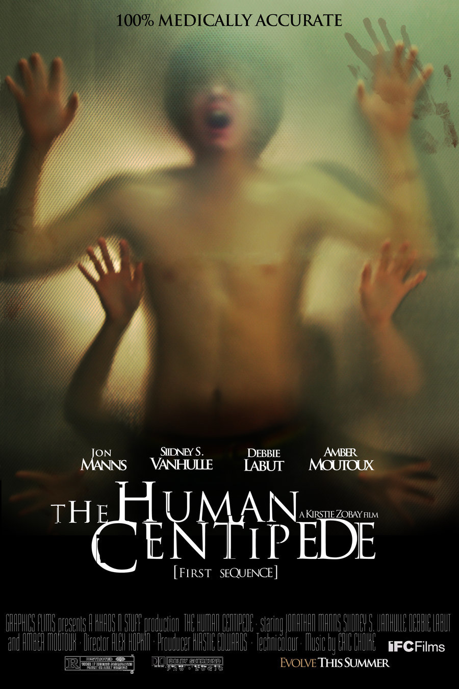 The Human Centipede (First Sequence) affiche