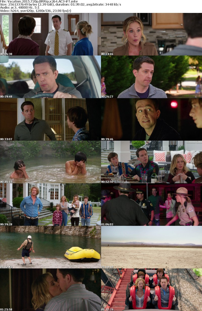 Vacation (2015) 720p BRRip x264 AC3-iFT