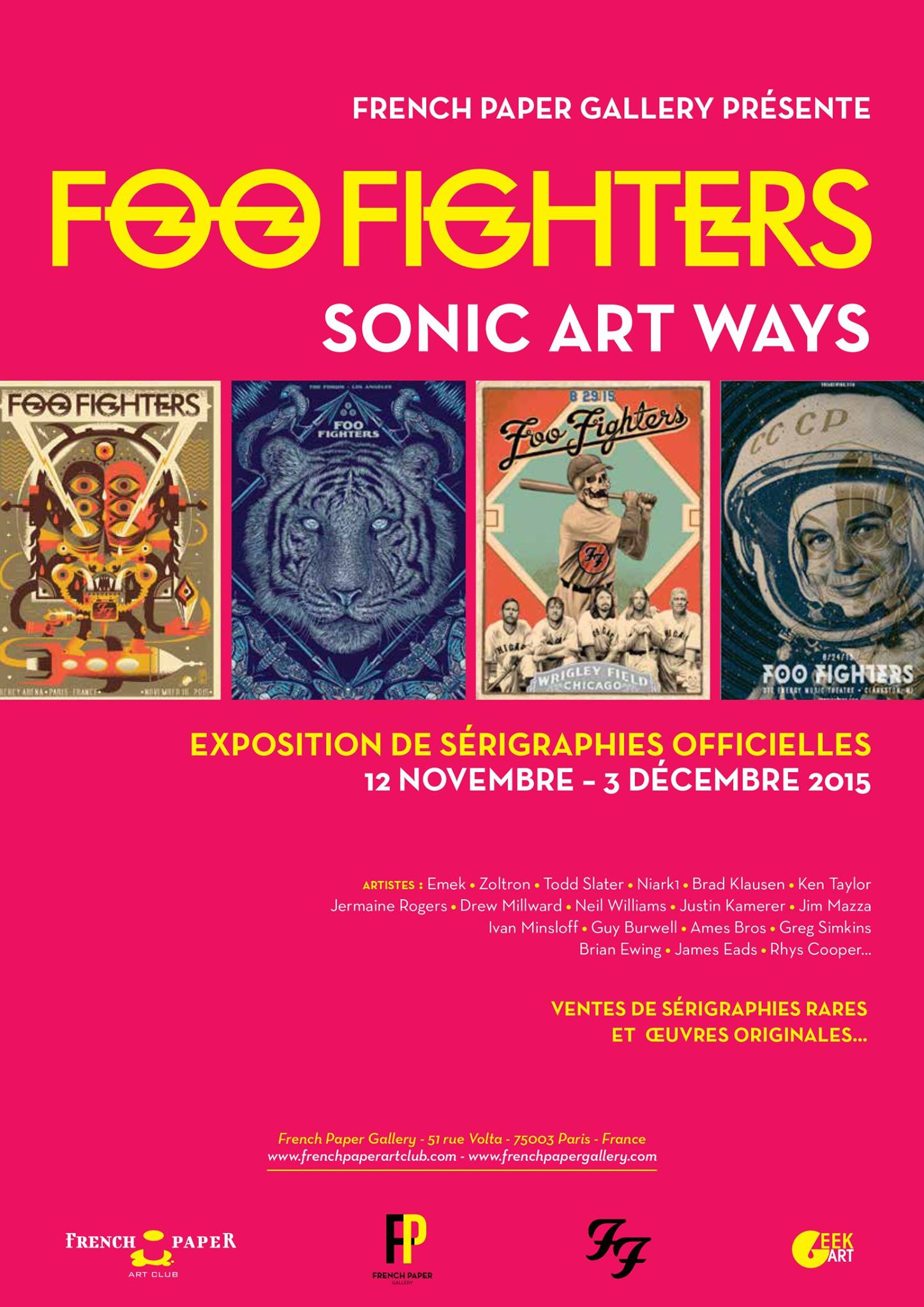Foo Fighters : Sonic Art Ways