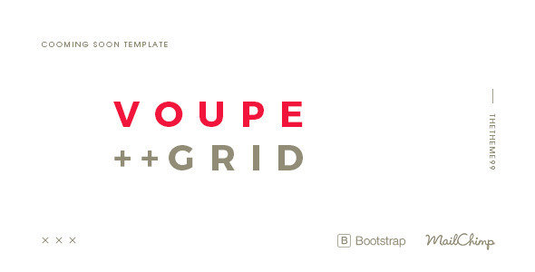 Themeforest - VOUPE | Coming Soon Template