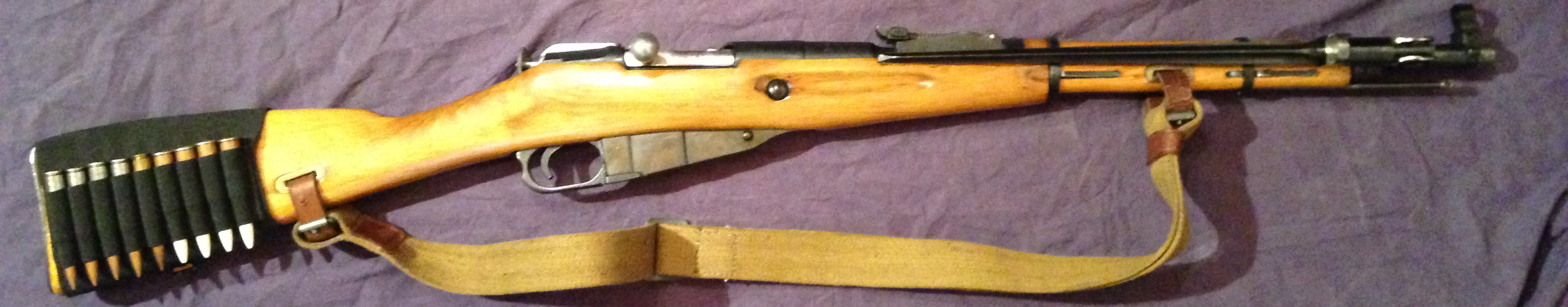 Conversion Mosin Nagant 91/30 En M44 Y2ax