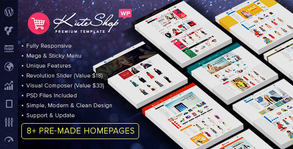 ThemeForest - KuteShop v1.5.2 - Multipurpose WooCommerce Wordpres Theme