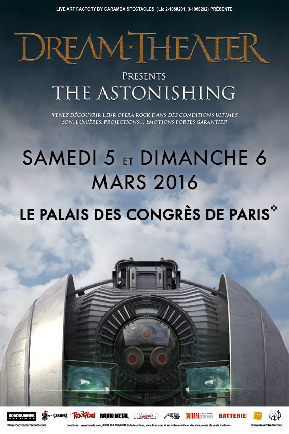Dream Theater : The Atonishing Tour