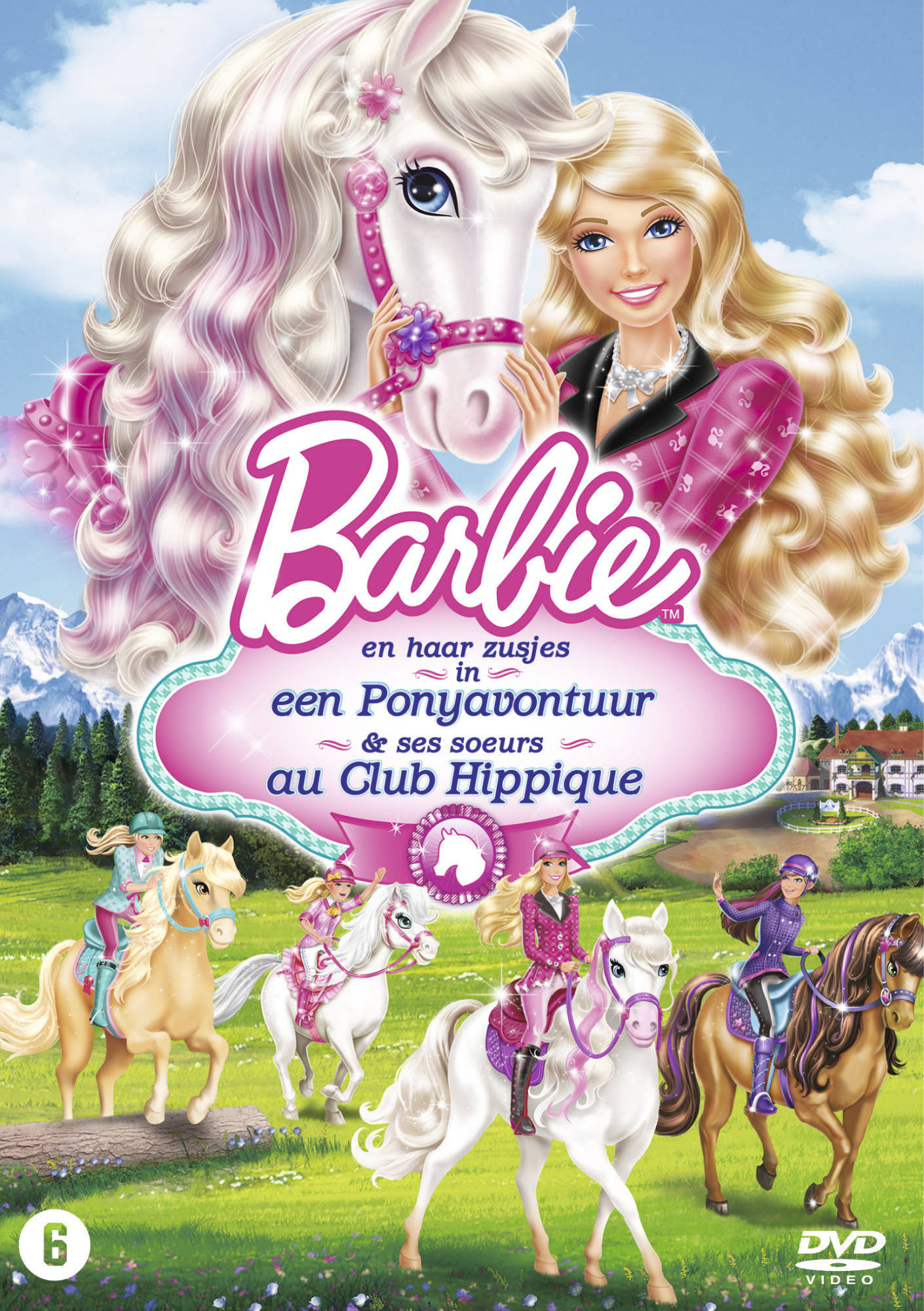 Barbie 26 barbie et ses s urs au club hippique en - Barbie club hippique ...