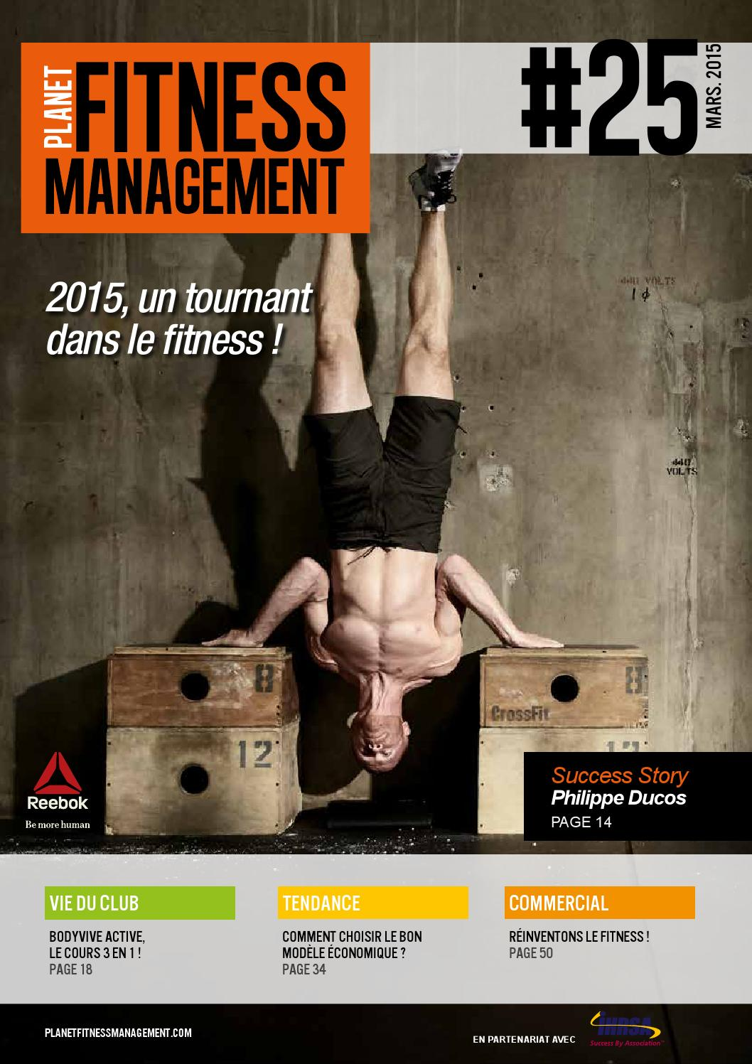 Planet Fitness Management N° 25 - Mars 2015