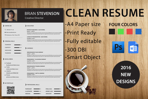 Creativemarket resume template nulled scripts apps softwares download creativemarket resume template fast open in new window yelopaper Gallery