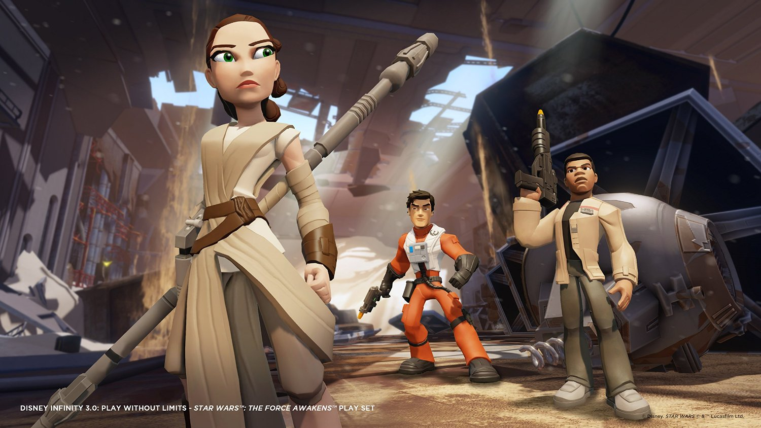 Disney Infinite 3.0 Star Wars Episode VII : Le Réveil De La Force