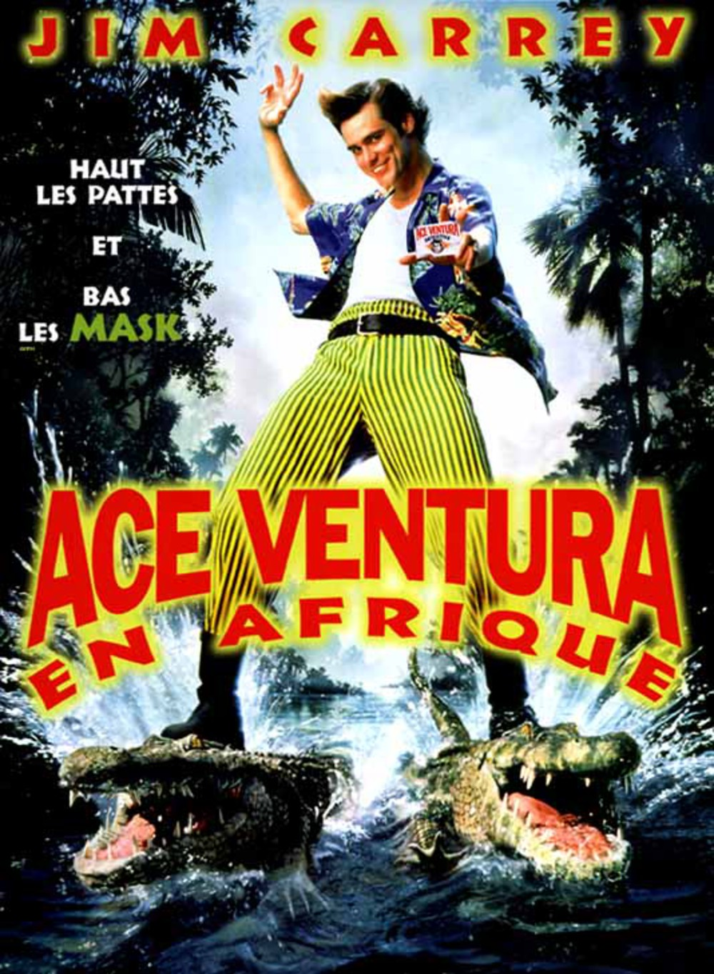 Ace Ventura 2 - En Afrique affiche