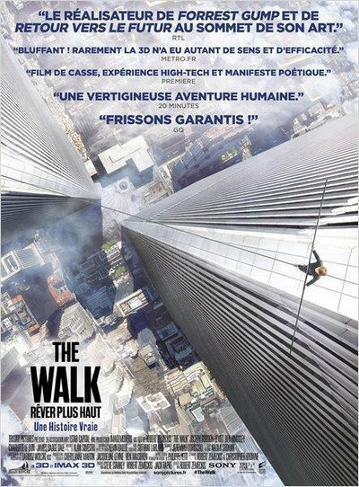 The Walk – Rêver Plus Haut [HDRip MD] [TRUEFRENCH]