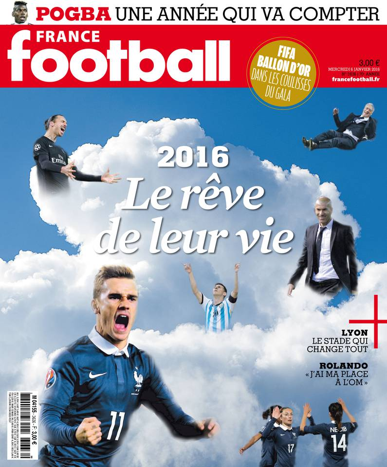 France Football No.3636 - 6 Janvier 2016