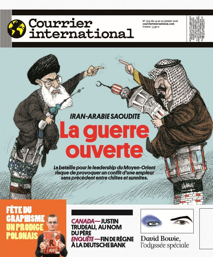 Courrier International N1315 du 14 au 20 Janvier 2016