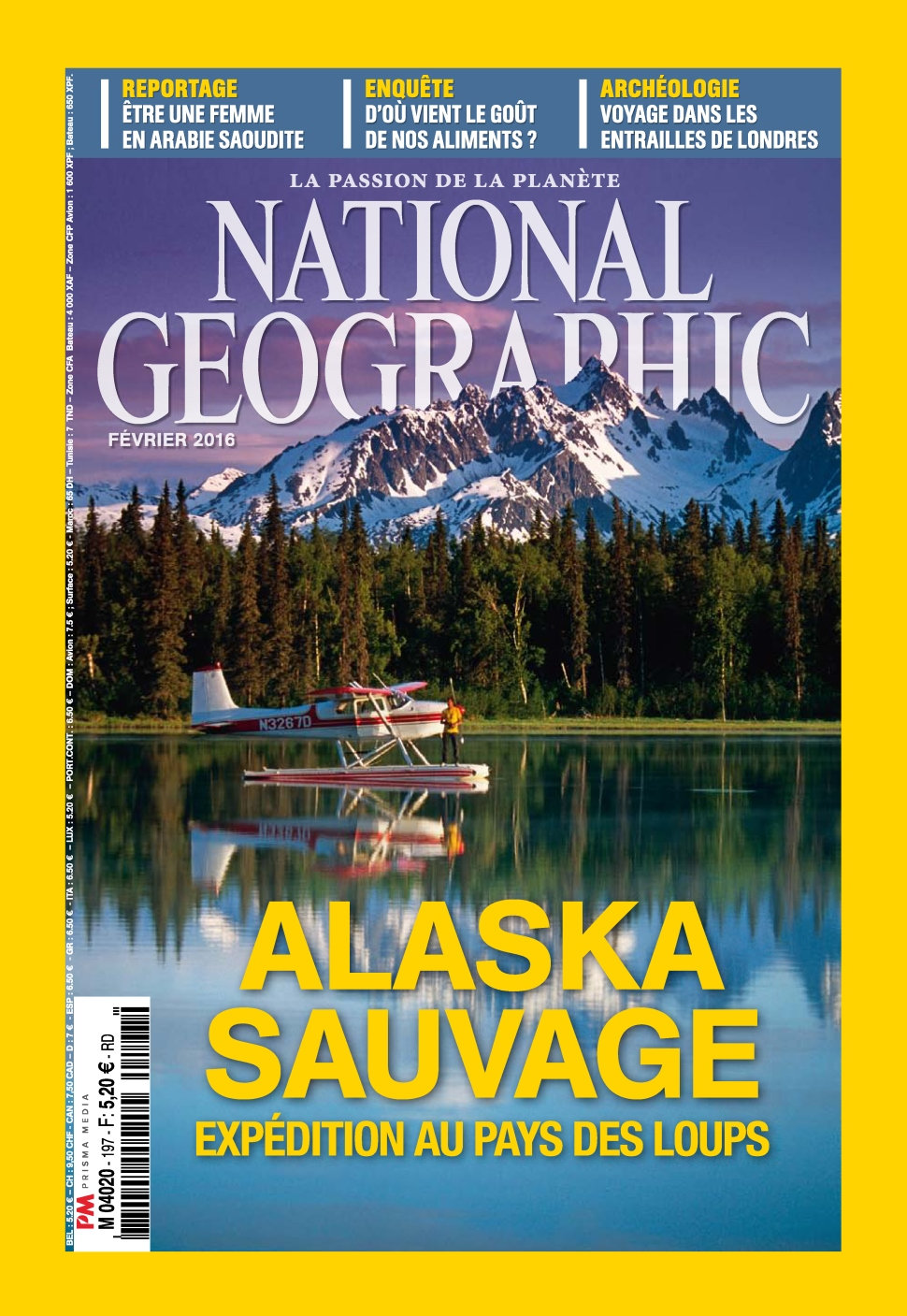 National Geographic N°197 - Février 2016