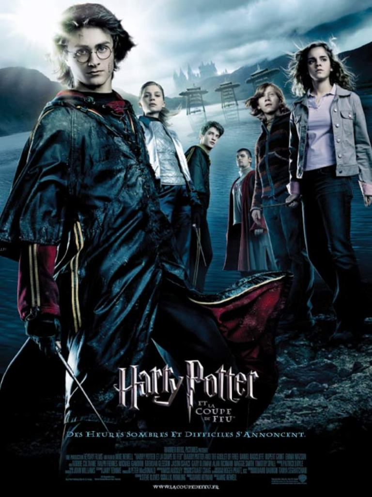 Harry Potter 4 et la coupe de feu affiche