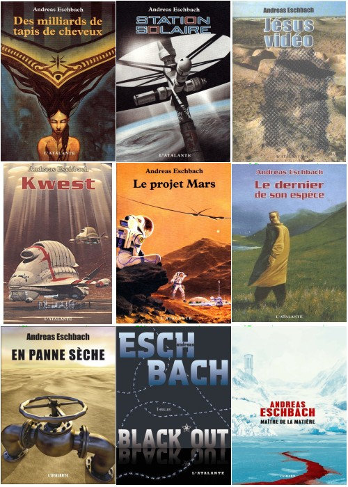 Andreas Eschbach - Collection de 9 eBooks
