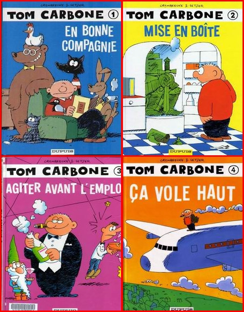 Tom Carbone - 4 Tomes
